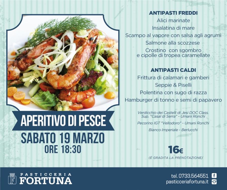 19.3.16 APERITIVO DI PESCE: scopri il menù!